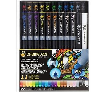 CHAMELEON BRUSH PEN SET 22PK DELUXE