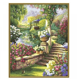 Paint by Numbers: Paradise Garden
