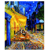 Paint by Numbers: Nocturnal Café