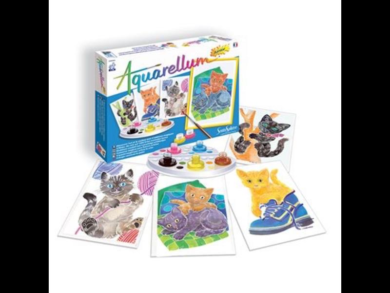 Aquarellum: Magic Canvas Junior Kittens