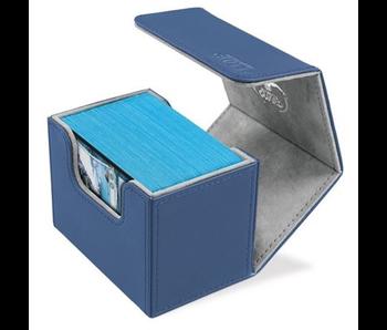 Ultimate Guard Deck Box: Sidewinder XenoSkin 80+ Blue