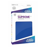 Ultimate Guard Sleeves: Supreme UX Sleeves: Supreme UX Japanese Matte Blue(60)