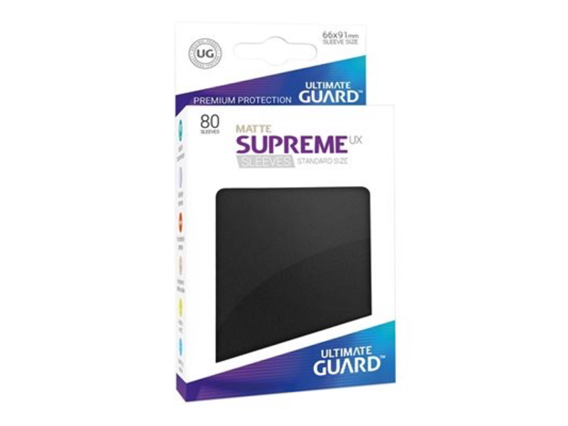 Ultimate Guard Sleeves: Supreme UX Standard Black