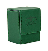 Ultimate Guard Deck Box: Flip Deck Case Xenoskin 80Green