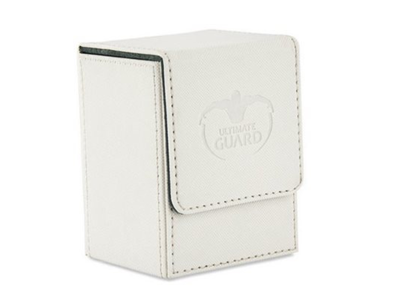 Ultimate Guard Deck Box: Flip Deck Case Xenoskin 80 White