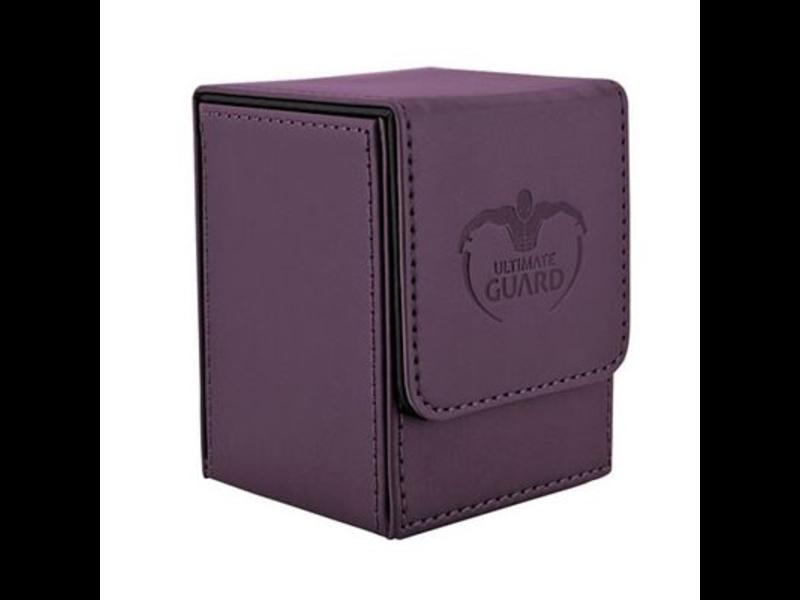Ultimate Guard Deck Box: Flip Deck Case Leather 100Purple