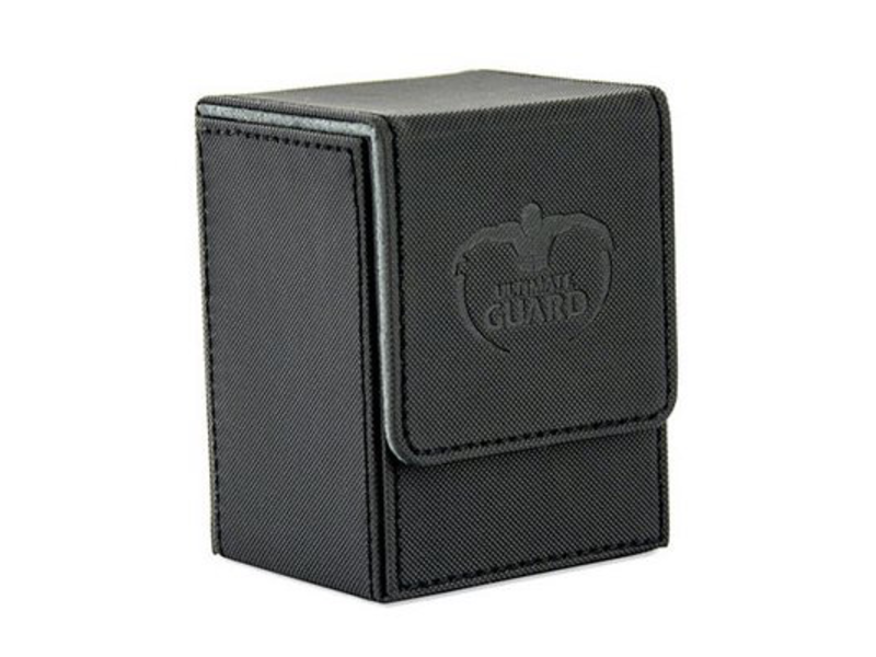 Ultimate Guard Deck Box: Flip Deck Case Xenoskin 80Black