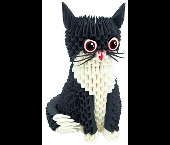 Creagami Paper Sculpture Cat