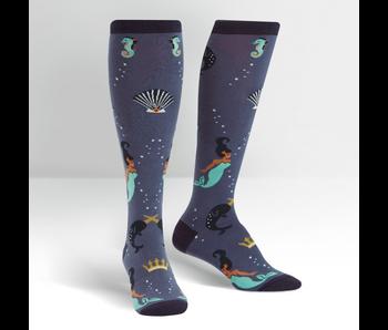 Sock It To Me Knee High Funky: Deep Sea Queen