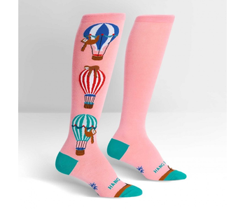 Sock It To Me Stretch-It Knee High: Hang In There