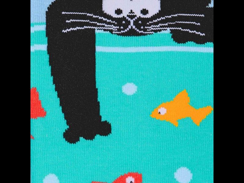 THINKPLAY Sock It To Me : Knee High Funky: Gone Fishin'