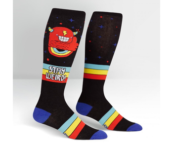 Sock It To Me Knee High Stretch-It: Stay Weird