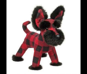 DOUGLAS CUDDLE TOY PLUSH: TARTAN BUFFALO PLAID SCOTTIE DOG