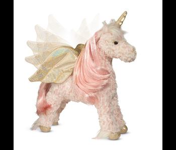 Douglas Cuddle Toy Plush: Hope Unicorn with moving wings, lights & sound