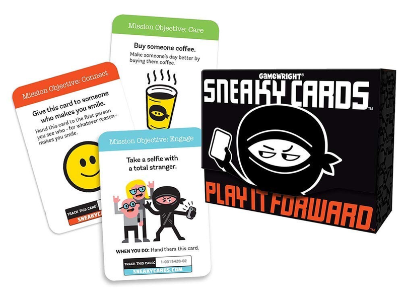 THINKPLAY SNEAKY CARDS PLAY IT FORWARD