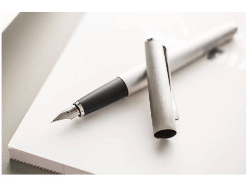 LAMY STUDIO BRUSHED STEEL/RUBBER GRIP Exra Fine