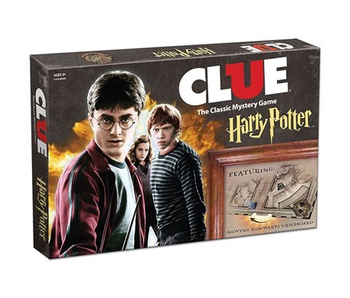 CLUE THE CLASSIC MYSTERY GAME: HARRY POTTER