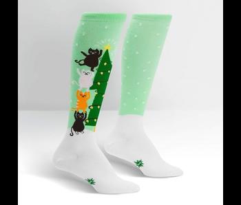 Sock It To Me Funky Kniee: Naughty or Nice