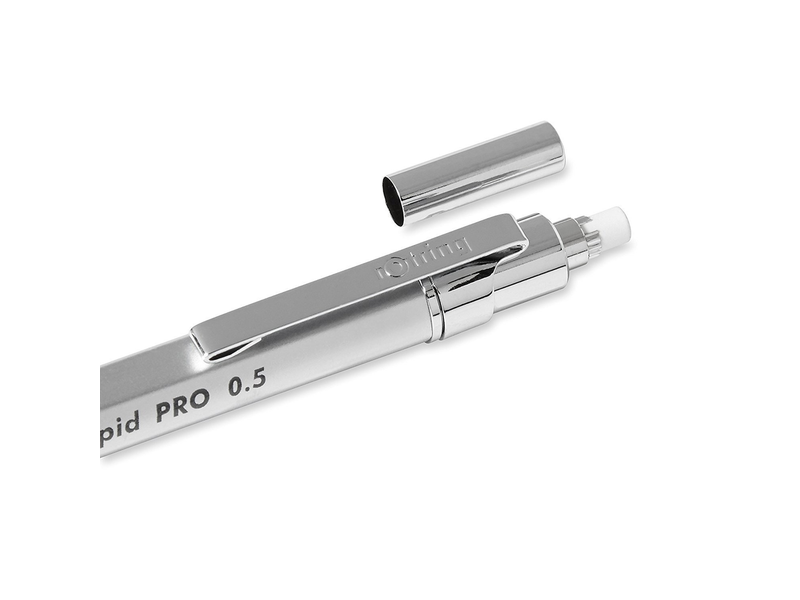 ROTRING RAPID PRO MECHANICAL PENCIL SILVER 0.5MM