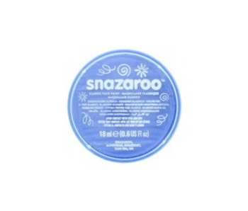 SNAZAROO FACE PAINT 18ML SKY BLUE