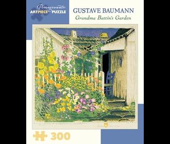 POMEGRANATE ARTPIECE PUZZLE 300 PIECE: GRANDMA BATTINS GARDEN