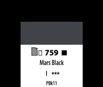 ABSTRACT ACRYLIC 500ML BAG MARS BLACK