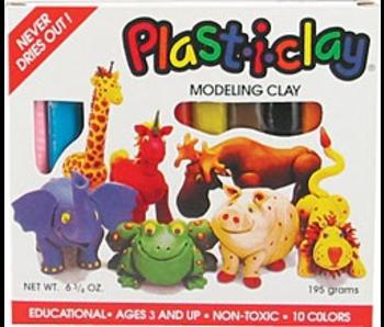 PLAST-I-CLAY 10 COLOUR SET