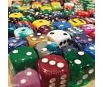 CHESSEX: POUND-O-D6 - ASSORTED DICE
