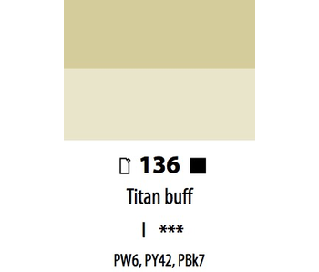 ABSTRACT ACRYLIC 120ML BAG TITAN BUFF