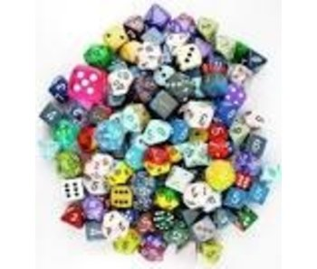 CHESSEX: POUND-O-DICE - ASSORTED DICE