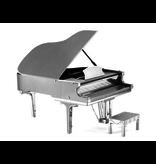 THINKPLAY METAL EARTH 3D MODEL SILVER: GRAND PIANO