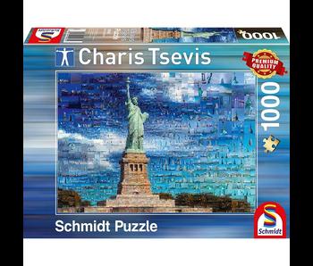 Schmidt Puzzle 1000 Statue of Liberty
