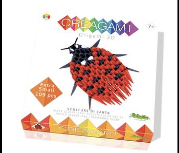 Creagami Paper Sculpture Ladybug
