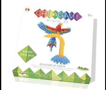 Creagami Paper Sculpture Parrot