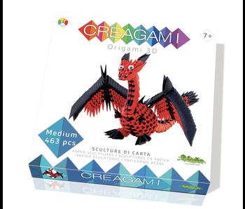 Creagami Paper Sculpture Dragon