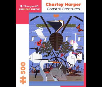 POMEGRANATE ARTPIECE PUZZLE 500 PIECE: CHARLEY HARPER COASTAL CREATURES