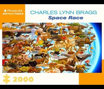 POMEGRANATE ARTPIECE PUZZLE 2000 PIECE: CHARLES LYNN BRAGG SPACE RACE