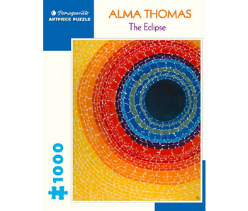 POMEGRANATE ARTPIECE PUZZLE 1000 PIECE: ALMA THOMAS THE ECLIPSE
