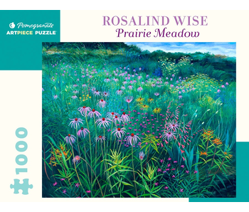 POMEGRANATE ARTPIECE PUZZLE 1000 PIECE: ROSALIND WISE PRAIRIE MEADOW