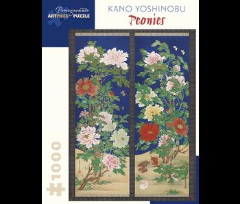 POMEGRANATE ARTPIECE PUZZLE 1000 PIECE: KANO YOSHINOBU PEONIES