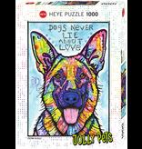 THINKPLAY Heye Puzzle 1000 pcs, Dogs Never Lie, Jolly Pets