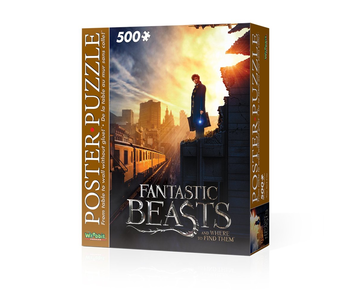 WREBBIT POSTER PUZZLE 500PC: FANTASTIC BEASTS AWTFT