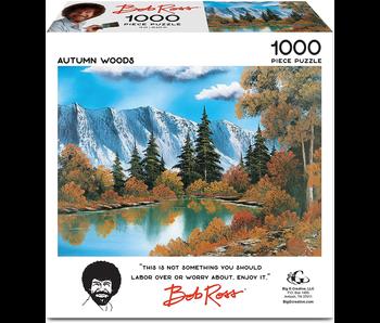 Bob Ross Jigsaw Puzzle: Autumn Woods