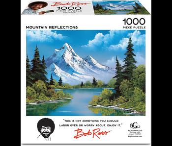 Bob Ross Jigsaw Puzzle: Mountain Reflections
