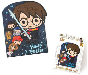 PlayHouse 24 Piece Mini Puzzle: Harry Potter Glow In The Dark