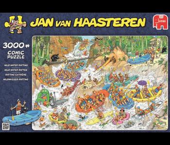 Jan Van Haasteren 3000 Piece Puzzle Wild Water Rafting
