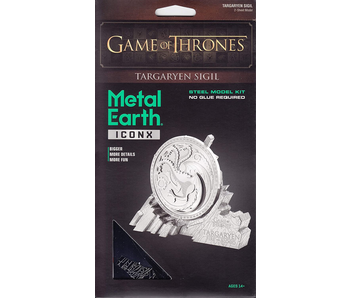 Metal Earth 3D Model Game of Thrones Targaryen Sigil