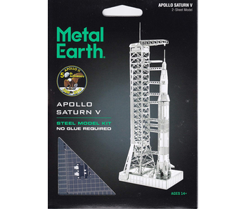 Metal Earth 3D Model Apollo Saturn V with Gantry