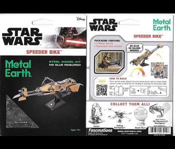 Metal Earth 3D Model Star Wars Speeder Bike