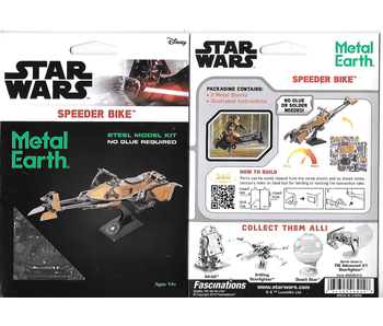Metal Earth 3D Model Star Wars Speeder Bike